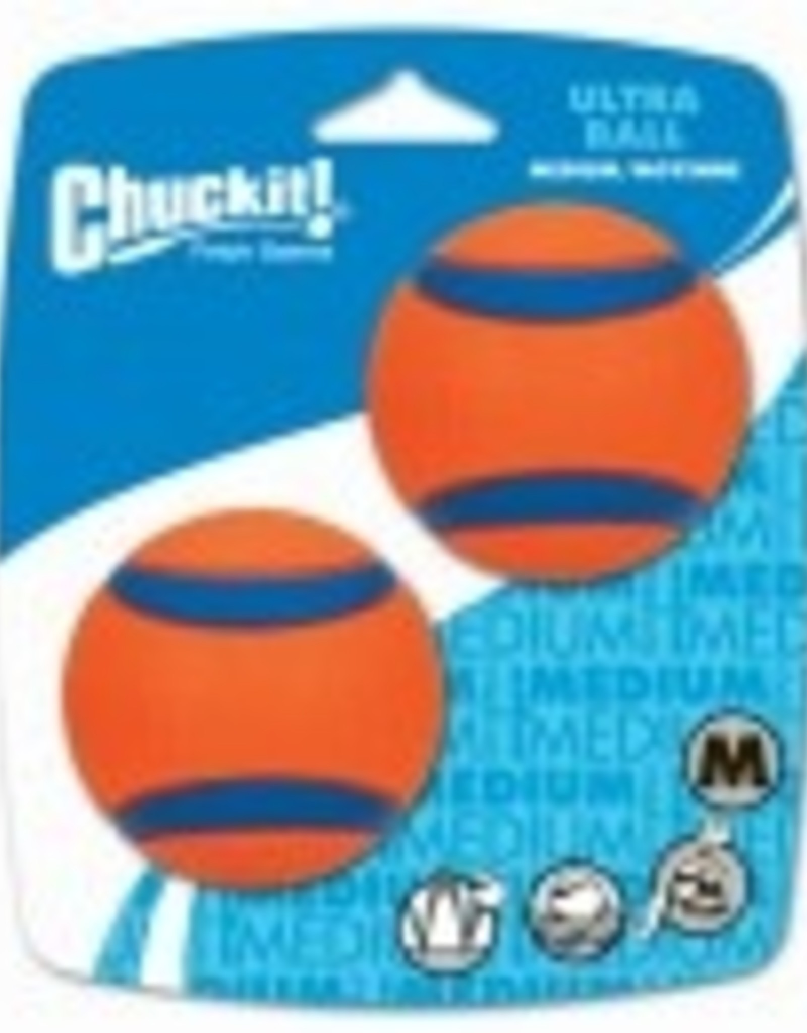CHUCK IT ULTRA BALL ORANGE 2IN 2PK