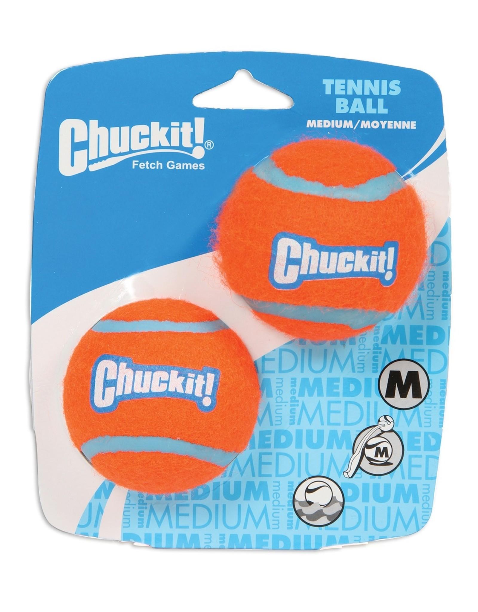 CHUCK IT! TENNIS BALLS 2PACK  XLG