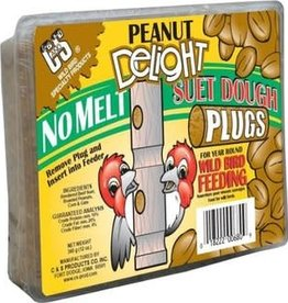 C AND S PRODUCTS CO INC P SUET DOUGH PLUG PEANUT DELIGHT