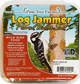 PINE TREE FARMS INC LOG JAMMERS PEANUT SUET REFILL