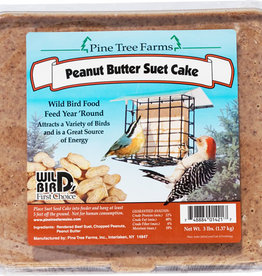 PINE TREE FARMS INC PINE TREE FARMS SUET PEANUT BUTTER 3#