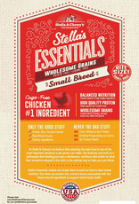 STELLA & CHEWY'S LLC STELLA & CHEWY'S ESSENTIALS CHICKEN & ANCIENT GRAINS SMALL BREED 10LBS