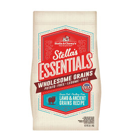STELLA & CHEWY'S LLC STELLA & CHEWY'S ESSENTIALS LAMB WITH ANCIENT GRAINS 25LBS