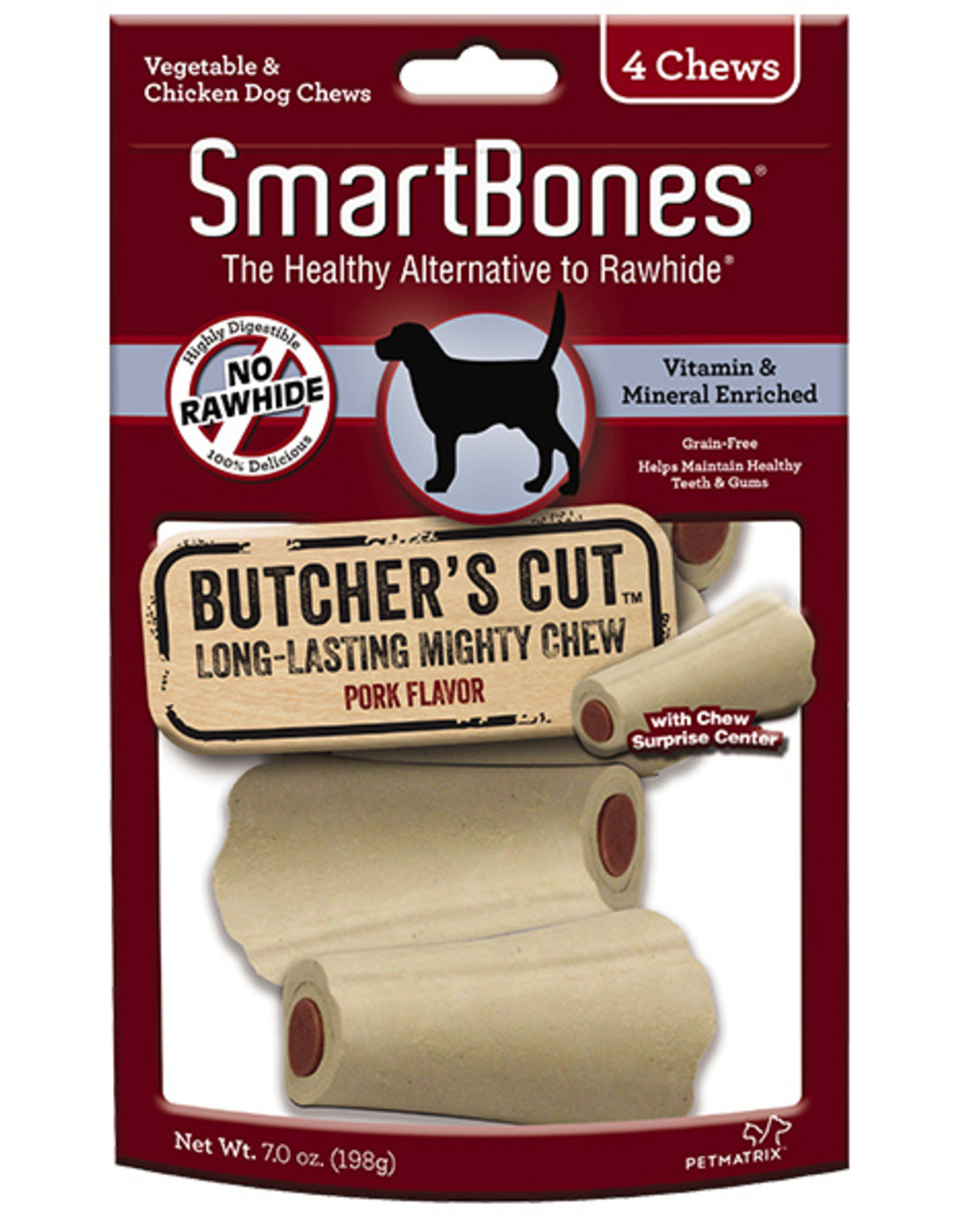 SMARTBONES BUTCHER S CUT SMALL 4PK