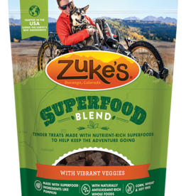 ZUKES SUPERFOOD-VIBRANT VEGGIE, 6 OZ BAG