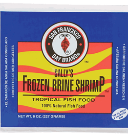 SAN FRANCISCO BAY BRAND SAN FRANCISCO BAY BRAND FROZEN BRINE SHRIMP 8OZ
