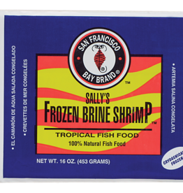 SAN FRANCISCO BAY BRAND SAN FRANCISCO BAY BRAND FROZEN BRINE SHRIMP 16OZ