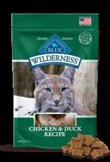 BLUE BUFFALO COMPANY BLUE WILDERNESS CAT TREAT CHICKEN & DUCK 2OZ