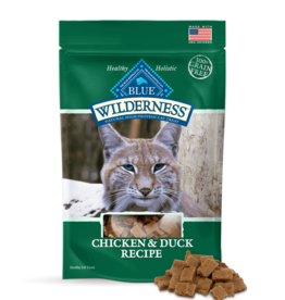 BLUE BUFFALO COMPANY BLUE WILDERNESS CAT TREAT CHICKEN & DUCK 2OZ
