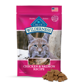 BLUE BUFFALO COMPANY BLUE WILDERNESS CAT TREAT CHICKEN & SALMON 2OZ