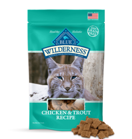 BLUE BUFFALO COMPANY BLUE WILDERNESS CAT TREAT CHICKEN & TROUT 2OZ
