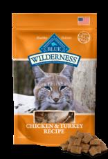 BLUE BUFFALO COMPANY BLUE WILDERNESS CAT TREAT CHICKEN & TURKEY 2OZ