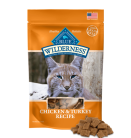 BLUE BUFFALO COMPANY BLUE WILDERNESS CAT TREAT CHICKEN & TURKEY 2OZ