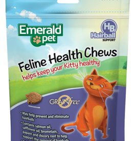 EMERALD PET PRODUCTS INC EMERALD PET SMART N TASTY FELINE TREAT HAIRBALL CHICKEN 2.5OZ