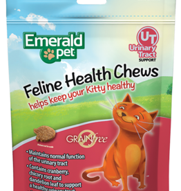 EMERALD PET PRODUCTS INC EMERALD PET SMART N TASTY FELINE TREAT URINARY TRACT CHICKEN 2.5OZ
