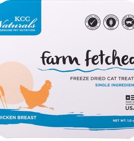 KCC NATURAL FARMS LLC FARM FETCHED CHICKEN BREAST 1OZ