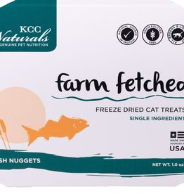 KCC NATURAL FARMS LLC FARM FETCHED FISH NUGGETS 1OZ