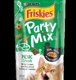 FRISKIES PARTY MIX TREAT CRUNCHY PICNIC 2.1OZ