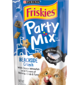 FRISKIES PARTY MIX TREAT BEACHSIDE CRUNCH 2.1OZ