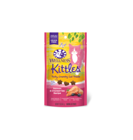 WELLPET LLC WELLNESS KITTLES SALMON & CRANBERRY 2OZ