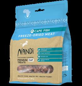 NANDI FREEZE DRIED CAPE FISH CAT TREAT 2OZ