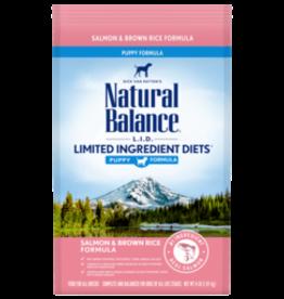 NATURAL BALANCE PET FOODS, INC NATURAL BALANCE LID SALMON & RICE PUPPY 24LBS