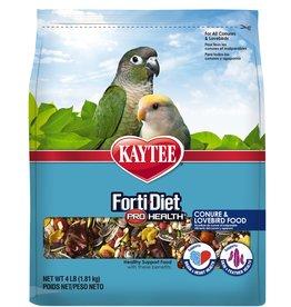 KAYTEE PRODUCTS INC KAYTEE FORTI-DIET PRO HEALTH CONURE & LOVEBIRD 4LBS