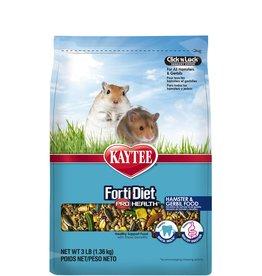 KAYTEE PRODUCTS INC KAYTEE FORTI-DIET PRO HEALTH HAMSTER & GERBIL 3LBS