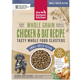 THE HONEST KITCHEN HONEST KITCHEN DOG CLUSTERS SMALL BREED WHOLE GRAIN CHICKEN 10LB