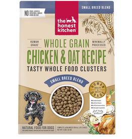 THE HONEST KITCHEN HONEST KITCHEN DOG CLUSTERS SMALL BREED WHOLE GRAIN CHICKEN 4LB