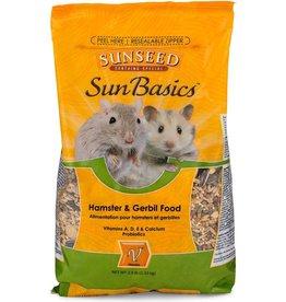 VITAKRAFT SUN SEED, INC. SUNSEED BASICS HAMSTER & GERBIL FOOD 2.5LBS