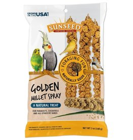 VITAKRAFT SUN SEED, INC. SUNSEED GOLDEN MILLET SPRAY 7OZ