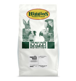 THE HIGGINS GROUP CORP. HIGGINS IMPERIAL PARAKEET FORTIFIED DIET 50LBS