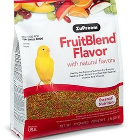 ZUPREEM ZUPREEM FRUITBLEND VERY SMALL BIRD 2.25LBS