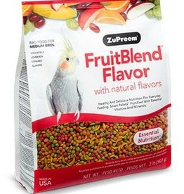 ZUPREEM ZUPREEM FRUITBLEND MEDIUM BIRD 2.5LBS