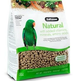 ZUPREEM ZUPREEM NATURAL PARROT & CONUTE 2.5LBS
