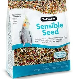 ZUPREEM ZUPREEM SENSIBLE SEED MEDIUM BIRD 2LBS