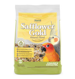 THE HIGGINS GROUP CORP. HIGGINS SAFFLOWER GOLD CONURE & COCKATIEL 3LBS