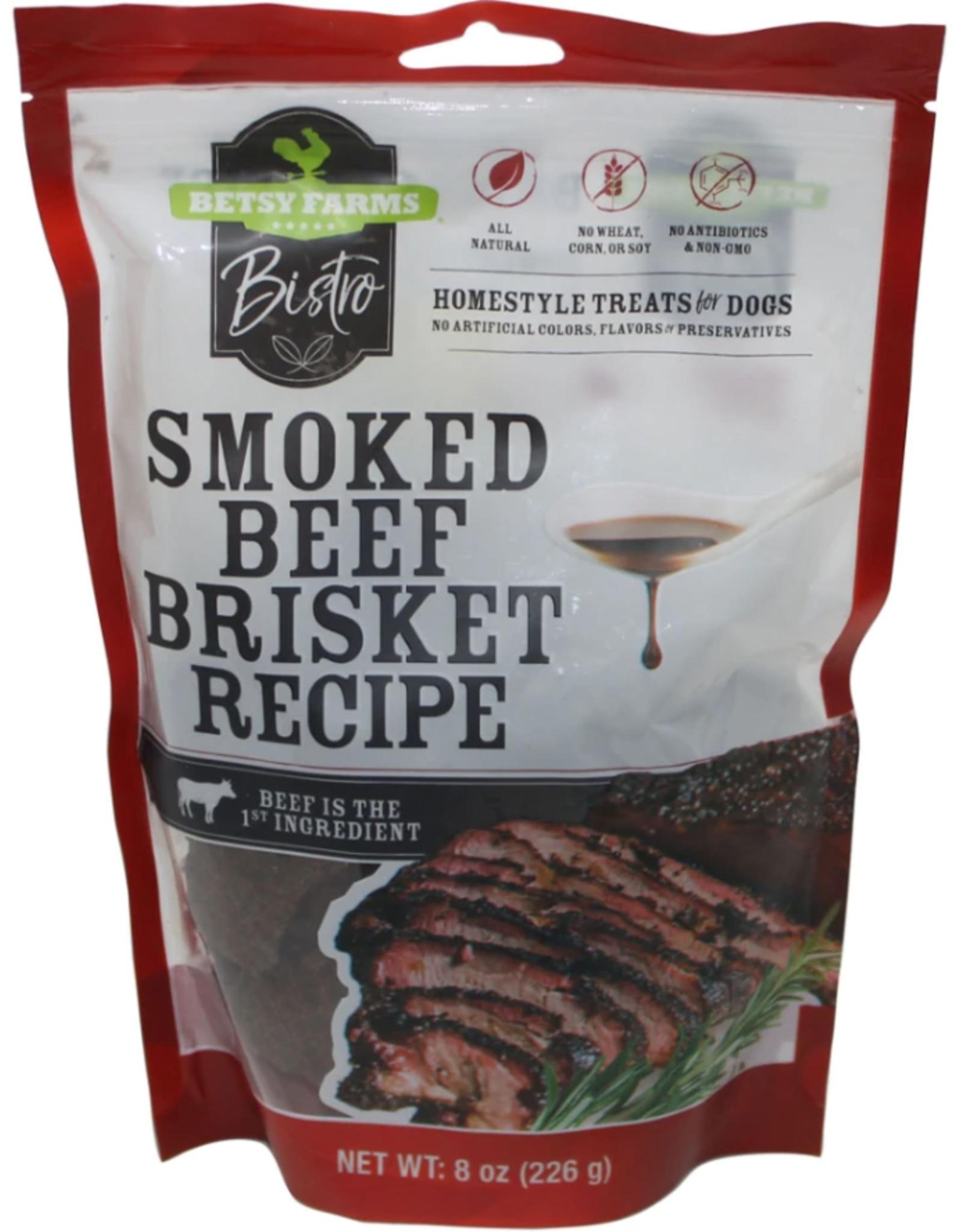 BETSY FARM BISTRO SMOKED BEEF BRISKET 8OZ discontinued pvff