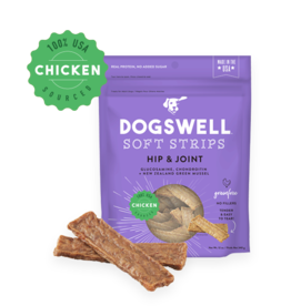 DOGSWELL, LLC DOGSWELL HAPPY HIPS SOFT STRIPS CHICKEN RECIPE 20OZ