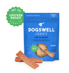 DOGSWELL, LLC DOGSWELL HAPPY HIPS CHICKEN BREAST JERKY 4OZ