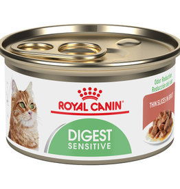 ROYAL CANIN ROYAL CANIN CAT CAN ADULT SENSITIVE DIGEST THIN SLICES 3OZ CASE OF 24