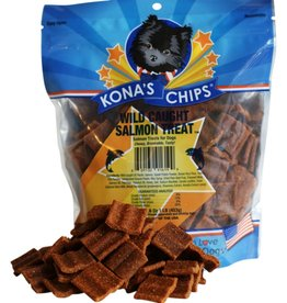 KONA'S CHIPS WILD CAUGHT SALMON TREAT 8OZ