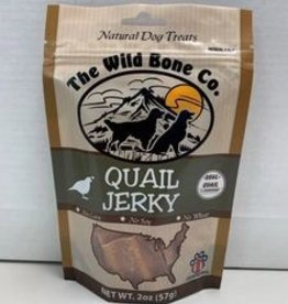 THE WILD BONE CO. QUAIL JERKY 2OZ