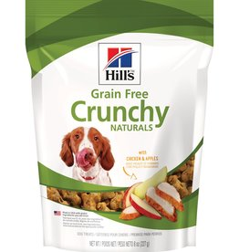 SCIENCE DIET HILL'S GRAIN FREE CRUNCHY CHICKEN & APPLES 8OZ