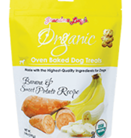 GRANDMA LUCY'S GRANDMA LUCY'S ORGANIC BANANA & SWEET POTATO TREAT 14OZ