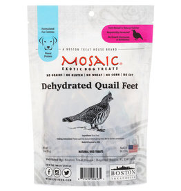 MOSAIC DEHYDRATED QUAIL FEET 3OZ