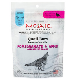 MOSAIC QUAIL BARS POMEGRANATE & APPLE  4OZ