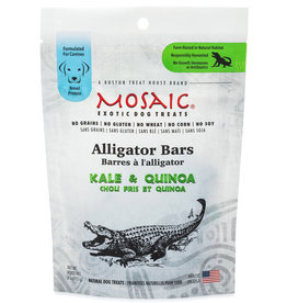 MOSAIC ALLIGATOR BARS KALE & QUINOA 4OZ