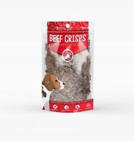 TICKLED PET NATURAL BEEF CRISPS 8OZ